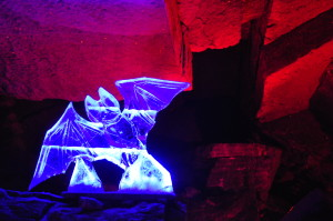 Uhu! The guardian bat angel of the Ice Cave.